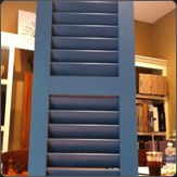 Louvered Shutter